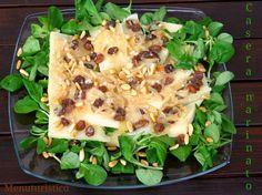 Formaggio Casera stagionato marinato, con rucola selvatica e la bellezza del formaggio nell'Arte!