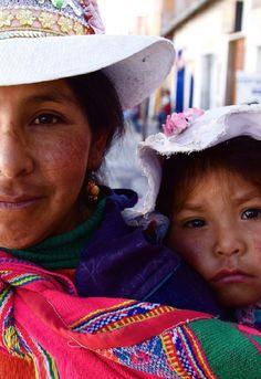 CREDIT:  Hideki Naito, Photographer.  Peruvian mother and child