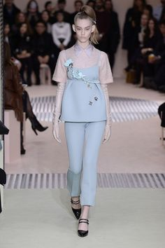 Prada. See all the best looks from Milan fashion week fall 2015.