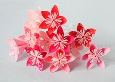 Bouquet de fleurs en origami - Adeline Klam