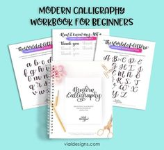 Everything you need to know to get started learning brush pen calligraphy Calligraphy Supplies, Brush Pen Calligraphy, Learn Calligraphy, Brush Lettering, Lettering Styles, Modern Calligraphy Tutorial, Hand Lettering Tutorial, Hand Lettering For Beginners, Calligraphy For Beginners