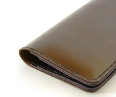 How to make a cool leather wallet case out of leather. Leather material gives it a more luxurious feel.