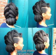 FORMAL NATURAL HAIR