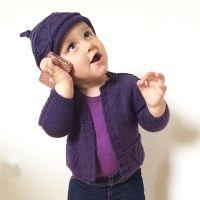 By Nyboe - Baby cardigan 513430