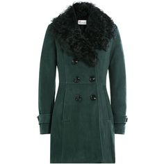 Yves Salomon Reversible Sheepskin Coat ($2,009) ❤ liked on ...