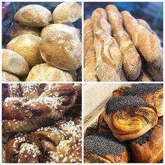 Godmorgon kära kunder! Varför inte börja med lite goda frallor till frukost eller kanske en frasig köpenhamnare?Välkomna in