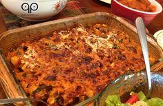 Primal Zucchini Bake  - paleo