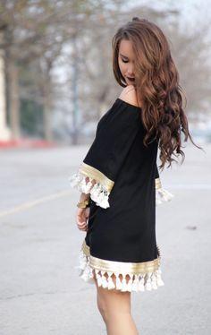 Tassel Dress - Sunshine & Stilettos Blog