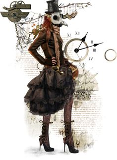 """144. Steampunk doll"" by mangoexotic ❤ liked on Polyvore"