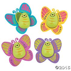 Butterfly Easter Eggs