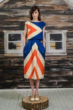 Lauren Moffatt Fall 2013 New York Fashion Week Pics Estilo Fashion, Look Fashion, Fashion Models, Runway Fashion, High Fashion, Womens Fashion, Fashion Design, Fall Fashion, Mode Style