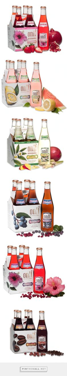 Onli Beverages by Sack Lunch Marketing. Pin curated by Juice Branding, Juice Packaging, Beverage Packaging, Bottle Packaging, Brand Packaging, Packaging Ideas, Peach Drinks, Juice Bottles, Packaging Design Inspiration