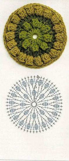 Crochet Doily - Chart ❥ 4U // hf