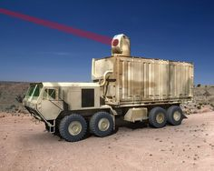 A laser system can be used for coping with the UAV threat