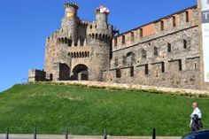 The former castle of the Knights Templar in Ponferrada