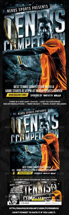 Winter Sports Competition Flyer Winter sports - competition flyer template