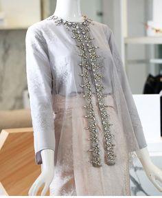 order contact my whatsapp number 7874133176 Kebaya Muslim, Kebaya Hijab, Kebaya Lace, Kebaya Dress, Hijab Fashion Inspiration, Trend Fashion, Womens Fashion, Outfit Essentials, Kebaya Wedding
