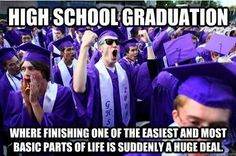 Funny pictures about Truth about high school graduation. Oh, and cool pics about Truth about high school graduation. Also, Truth about high school graduation. Graduation Meme, High School Graduation, Graduate School, Graduation Pictures, Graduation Ideas, Graduation Sayings, Graduation Speech, Graduation Celebration, Graduation Dresses