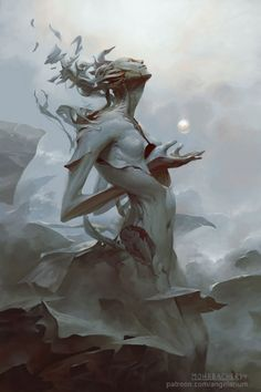 ArtStation - Binah, Peter Mohrbacher