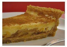 Tarte de Maçã com Leite Condensado | Sobremesas de Portugal