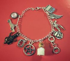 This is an original bracelet sold exclusively by Supernatural-Sickness- Absolutely NOT sold in stores! All of our charms are made of zinc alloy or a combination of metal alloy. We only use the best ma