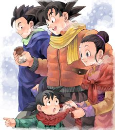 Son family - Dragon Ball | by JOHNNY