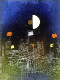 Paul Klee - City with flags