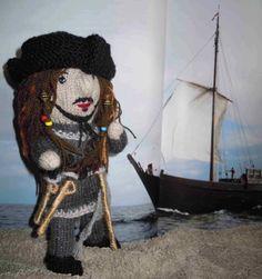 Wollfadengeschöpfe: Pirat