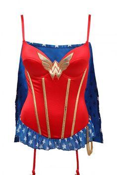 #WonderWoman lingerie