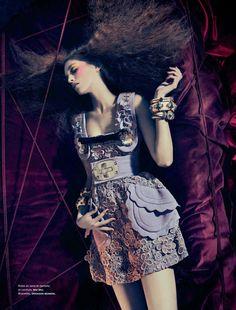 Samantha Gradoville – Sebastian Kim – Numéro #118   Fashion Editorials