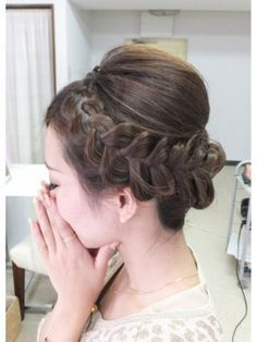 Medium Hair Styles, Short Hair Styles, Hairdo Wedding, Hair Arrange, Hair Setting, Short Hair Updo, Wedding Hair And Makeup, Bride Hairstyles, Hair Inspiration