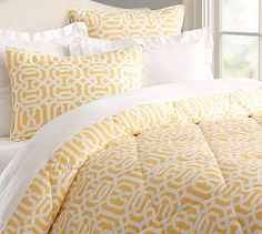 Terri Trellis Comforter  - Pottery Barn - Or I like this for the guest room