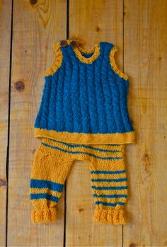 knitting for the baby