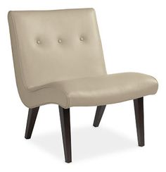 Delia Leather Chair - Chairs - Living - Room & Board $999