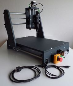 This is the third iteration of my low budget CNC router design, which I began working on when I was in need of a cheap CNC machine some years ago. The idea behind. Arduino Cnc, Routeur Cnc, Cnc Router Plans, Diy Cnc Router, Cnc Plans, Cnc Woodworking, Wood Router, Cheap Cnc Machine, Cnc Router Machine