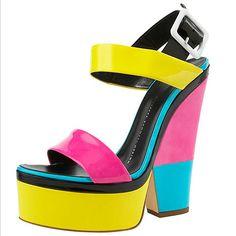 2012 Neon Shoe Trends