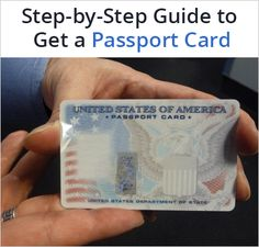Passport card is the best option if you are travelling to Canada, Mexico and the Caribbean by land or sea from US. Here's how you can apply for Passport Card. Apply For Passport, Getting A Passport, Passport Card, Passport Online, Id Card Template, Divorce Papers, Visa Card, Work Tools, Viajes