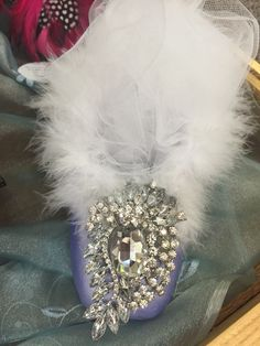 Lavender snow can be seen at High Street Antiques in Carrollton Texas.
