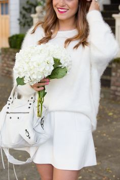 All White  #accessories #beauty #fashion #style