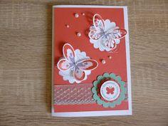 Brigittes Stempelstelle: Schmetterlingskarte #Stampin #up #Schmetterling #Karte #Card #Butterfly