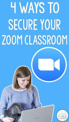 4 Ways to Secure You Zoom Classroom provides tutorials and step-by-step instructions for how to add additional layers of security to your Zoom meetings to protect against Zoom bombing.  #vestals21stcenturyclassroom #zoom #zoomtutorials #zoomclassroom #zoomtutorialsforteachers #zoommeeting #teachingwithzoom #zoombombing