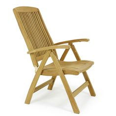 The Barbuda Outdoor Recliner is our most ample teak folding chair, adjustable up to 6 different reclining positions, and folds for easy storage. Convert it into an after dinner lounge chair with our Teak Folding Stool, making the recliner an optimal choice for pure outdoor relaxation. Transform your patio or garden into an elegant dining space by simply adding one of our Dining Tables. Built with brass and stainless steel hardware to withstand the elements.