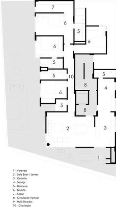 Edificio Trentino,Planta Baixa - 3º Pavimento
