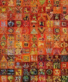 "Saatchi Art Artist Krzysztof Pajak; Painting, ""Camaro ( nr 876 )"" #art"