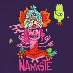 Freaks serie.  #psychedelic #freaks #serie #artwork #keuj #cartoon #illustrator…