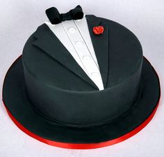designer tuxedo cake toronto by www.fortheloveofcake.ca, via Flickr