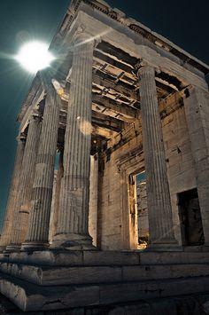 Acropolis in Athens, Greece - Spring 2009