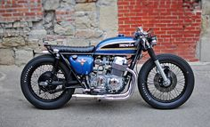 Mike Salek's CB750 RS Straight