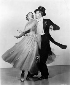 Ginger Rogers and Fred Astaire, Top Hat, 1935