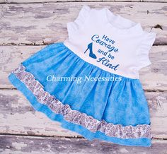 Have Courage Tunic with (optional) Bloomers-